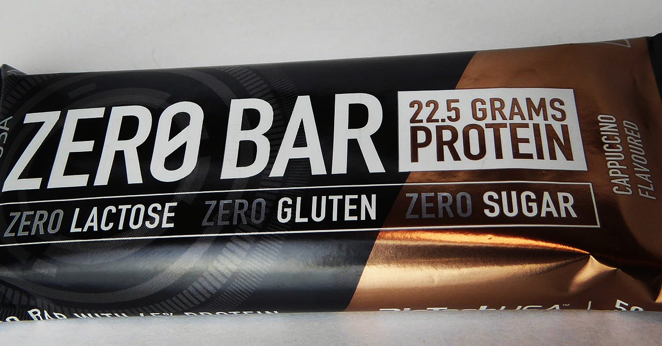 BioTech USA Zero Bar Cappuccino Flavoured