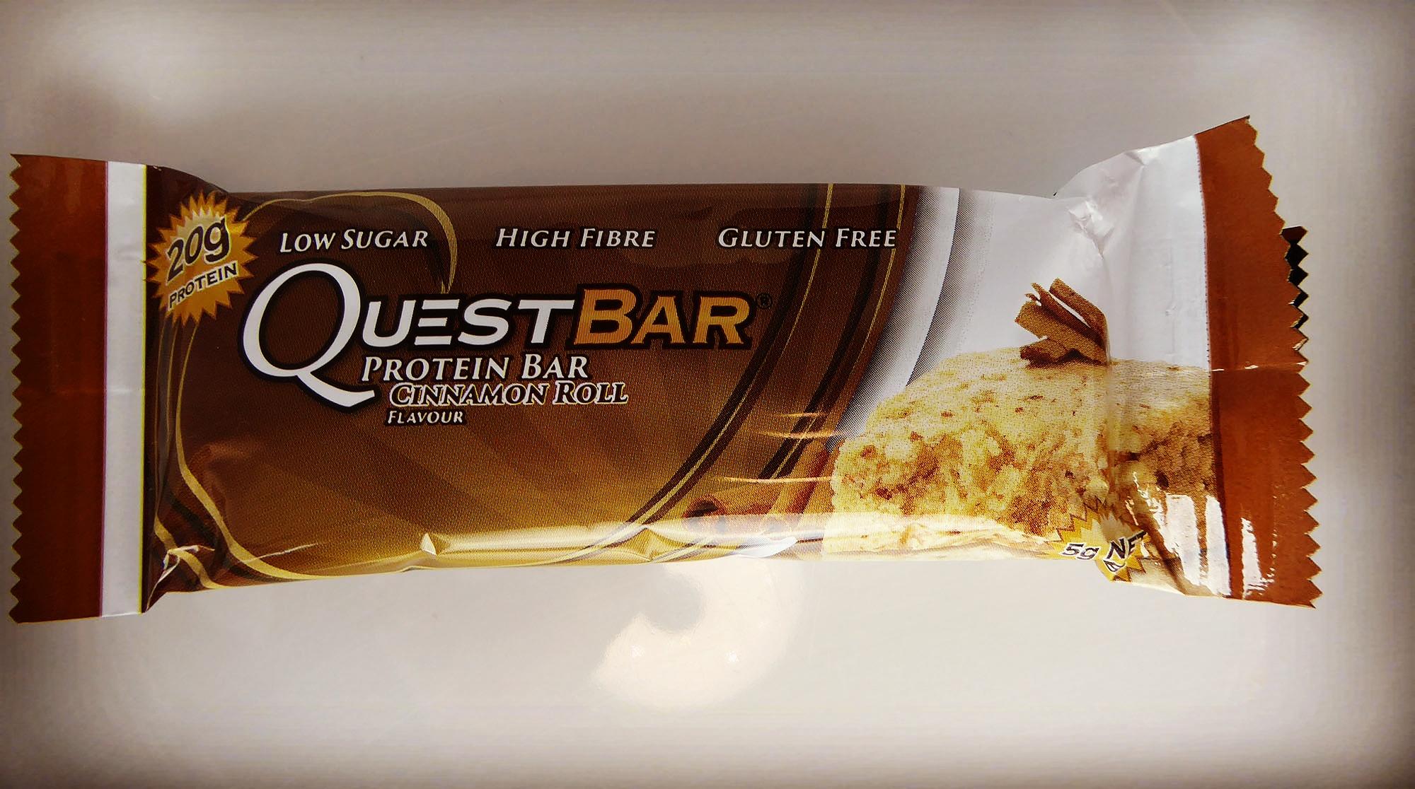 Questbar Proteinbar Proteinriegel Zimt