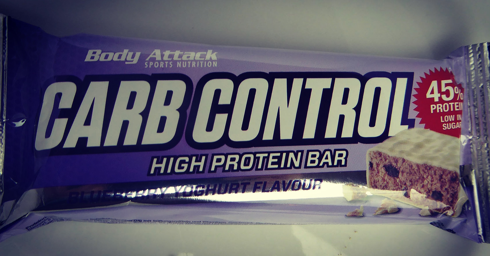 Body Attack Sport Nutrition Carb Control Blueberry Yoghurt Protein Bar proteinriegel