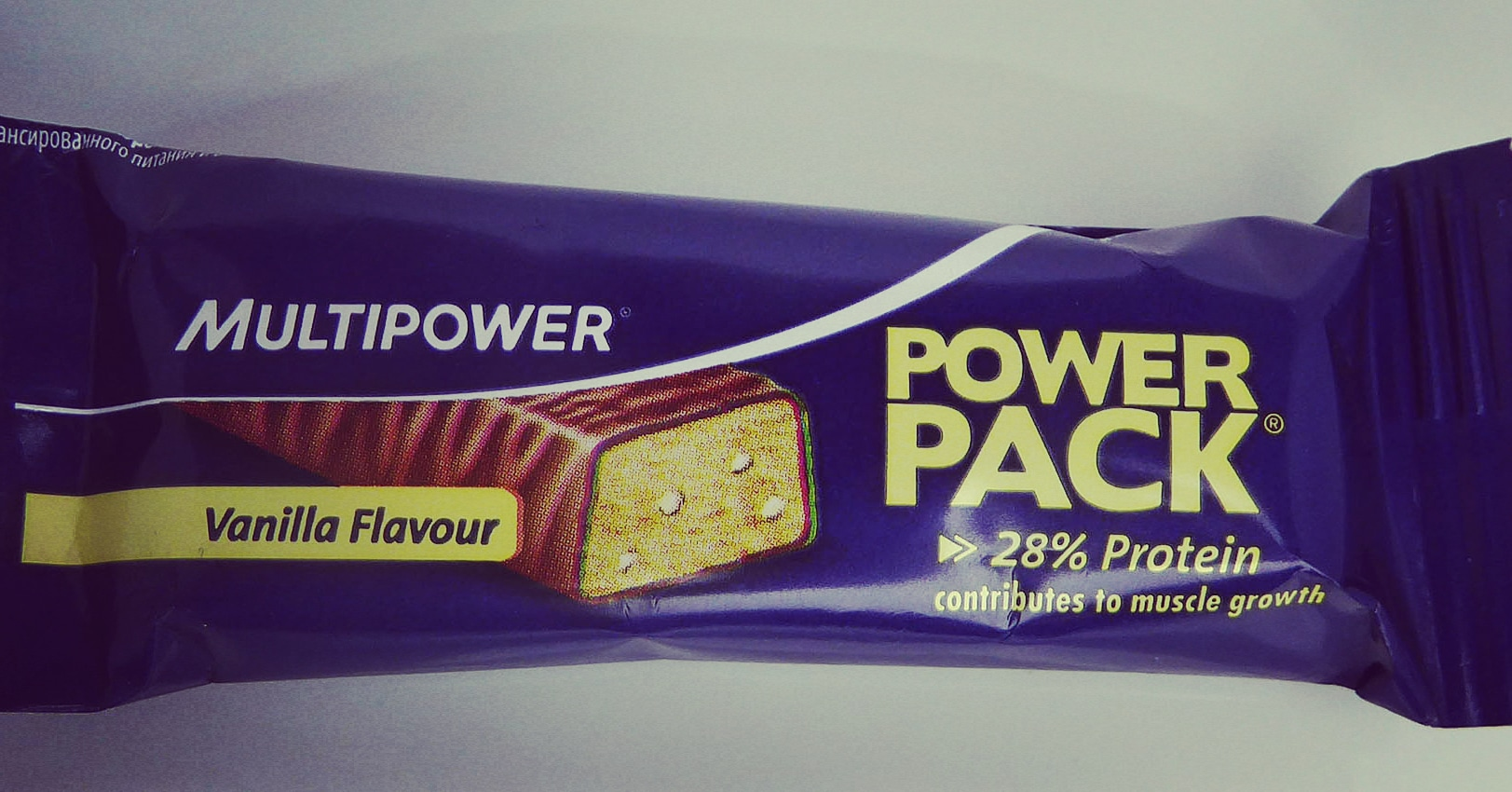 Multipower Proteinbar Power Pack Vanilla Flavour