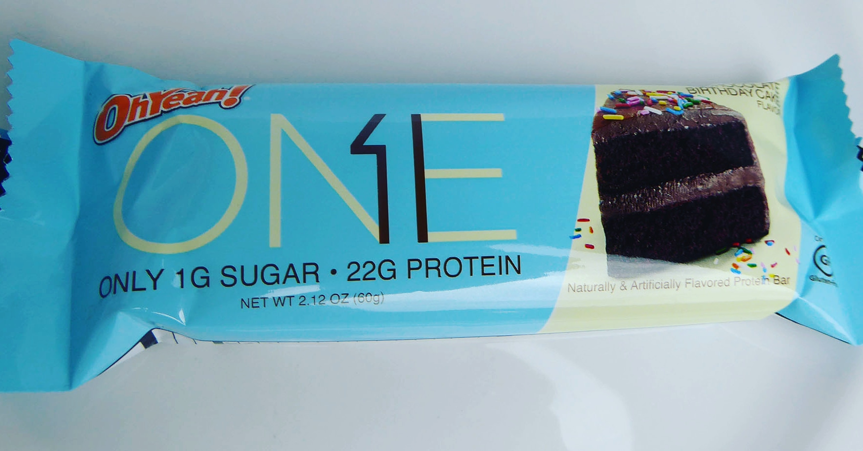 One Chocolate Birthday Cake Flavour Protein Bar