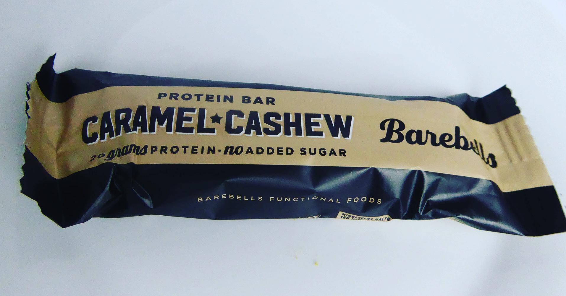 Barebells Cashew Caramel Proteinriegel Eiweißriegel