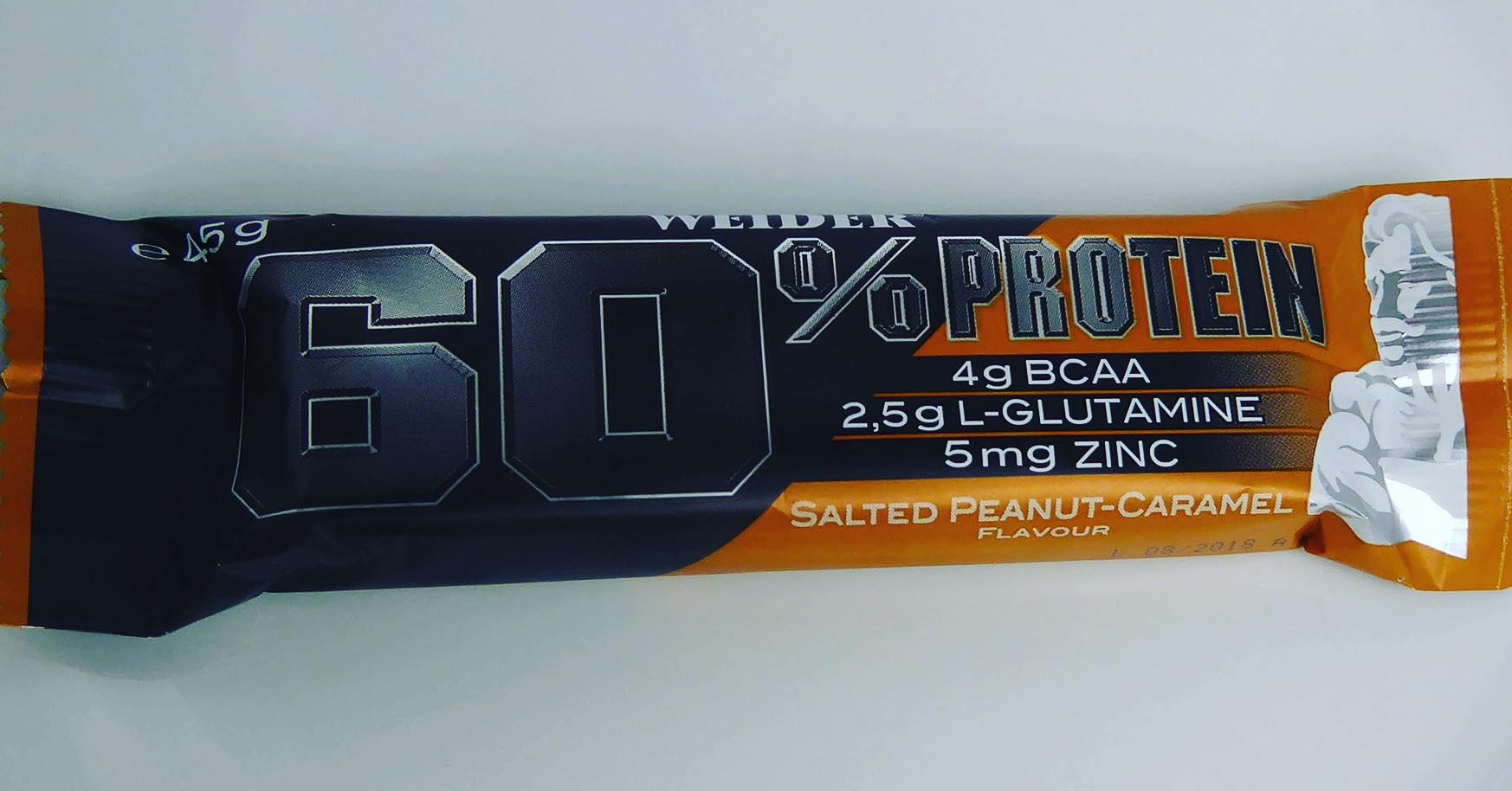 Weider Salted Peanut Caramel gesalzener Proteinriegel