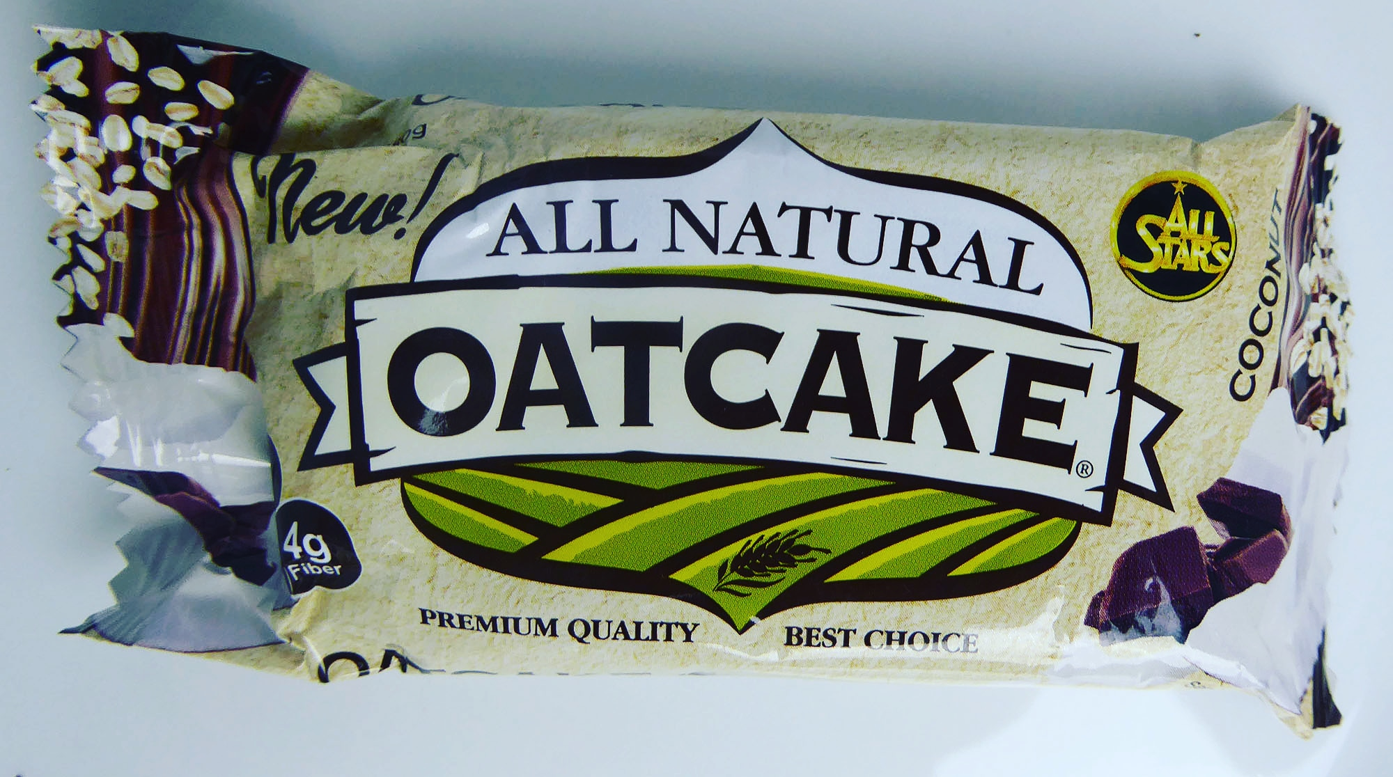 All Stars All Natural Oatcake Protein Kuchen
