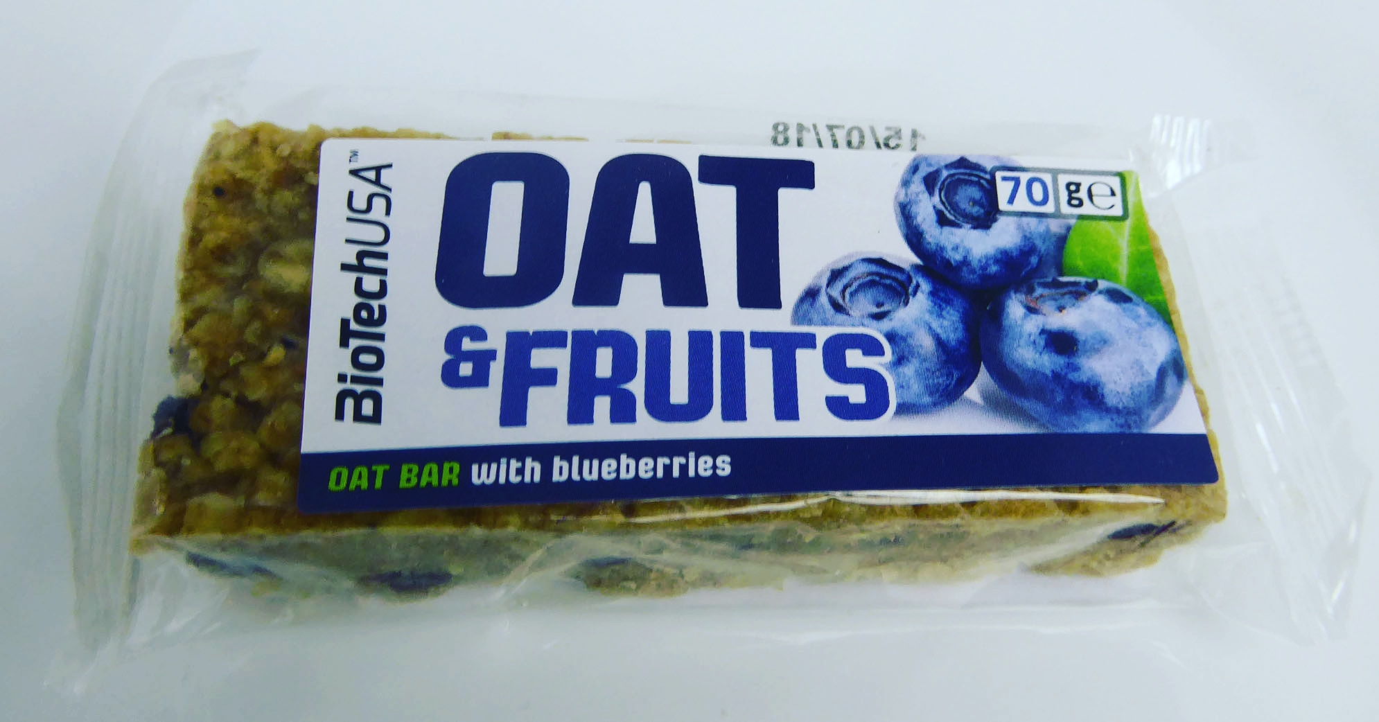 BioTechUSA Oatbar Oat & Fruits Hafer Haferkuchen