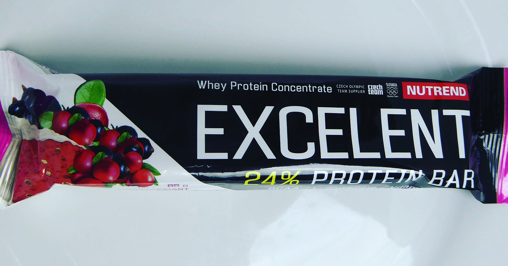 Excelent Nutrend Cranberry Protein Bar Proteinriegel Preiselbeeren