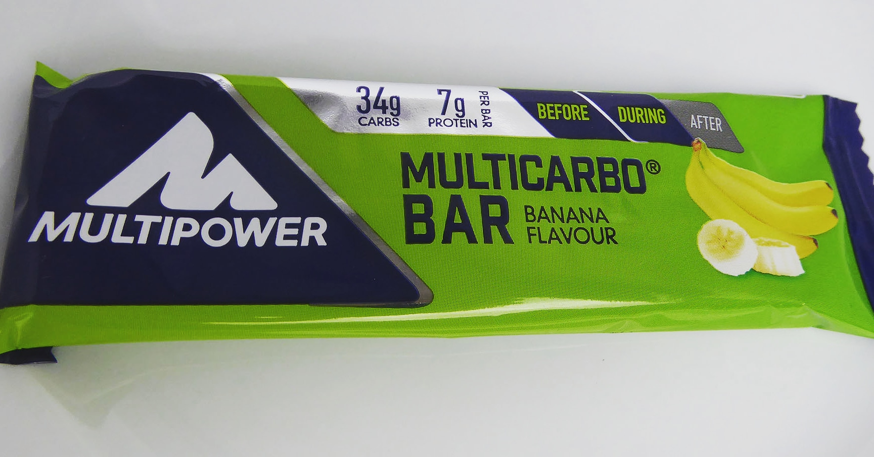 Multipower Protein Riegel Eiweiß Riegel Multicarbo Banane