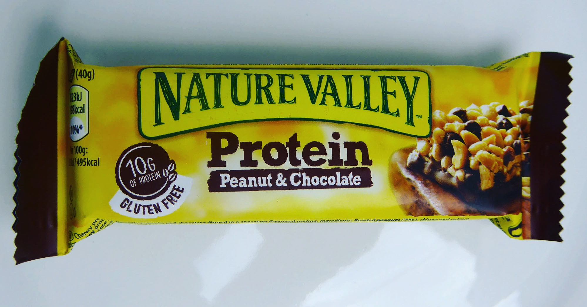 Nature Valley Protein Bar Peanut Chocolate Erdnuss Schokolade Proteinriegel