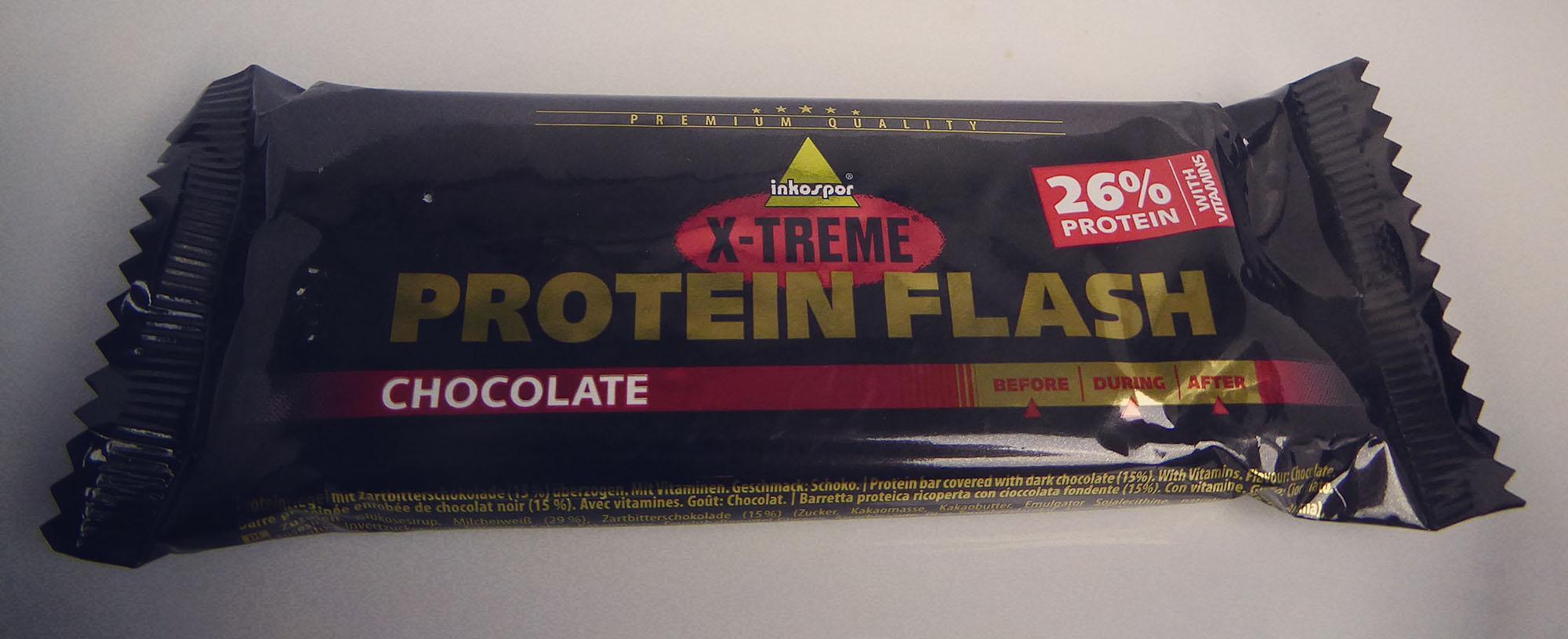 Inkospor x-treme Protein Flash Chocolate protein bar Proteinriegel Eiweißriegel