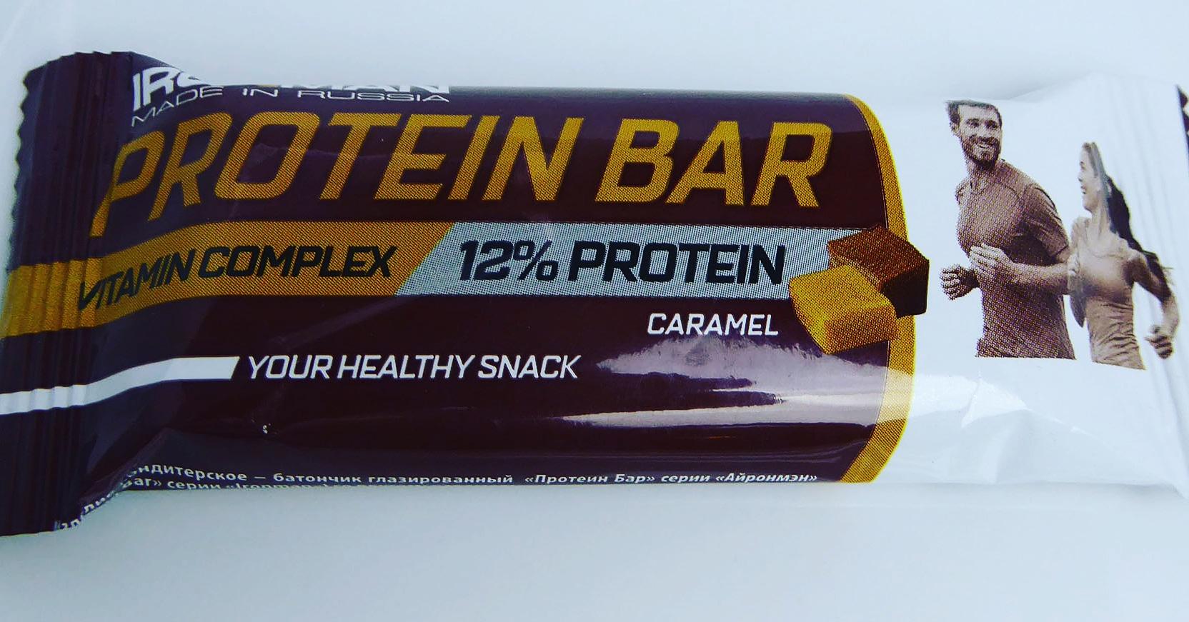 Ironman Protein Bar Proteinbar Proteinriegel Eiweißriegel