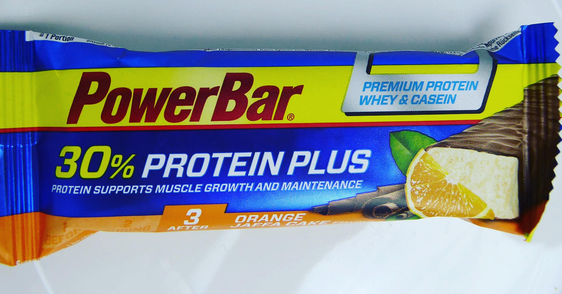 PowerBar Power Bar Jaffa Cake Orange Protein Bar Proteinbar Proteinriegel Eiweißriegel